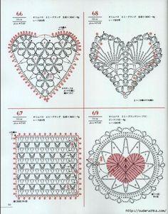 Crochet and arts: crochet motifs Crochet Motifs, Crochet Diagram, Crochet Chart, Crochet Squares, Thread Crochet, Crochet Stitches, Free Crochet, Knitting Patterns, Crochet Patterns
