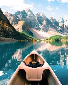 Moraine Lake Alberta Canada |  Michael Block... | #adventure #travel #wanderlust #nature #photography