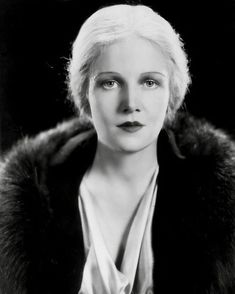 "Ann Harding, 1932 ""Because of her stage experience, she was much in demand in the early days of talking pictures when there was a scarcity of beautiful actresses in Hollywood who knew how to deliver a line."" - New York Times obituary, 1981 Classic Movie Stars, Classic Movies, Vintage Hollywood, Classic Hollywood, Hollywood Actresses, Actors & Actresses, Ann Harding, Herbert Marshall, Ronald Colman"