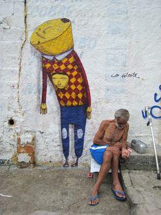 Artist: Os Gemeos in Sao Paulo