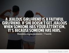 girlfriend jealousy quotes