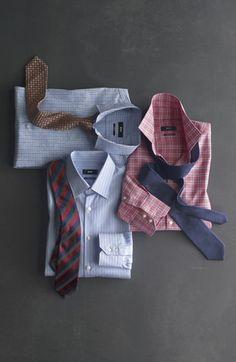 Hugo Boss dress shirts (via Nordstrom).
