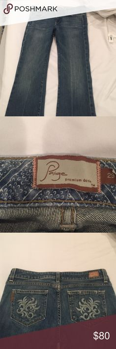 Boot cut Paige jeans Paige jeans boot cut in good condition Paige Jeans Jeans Boot Cut