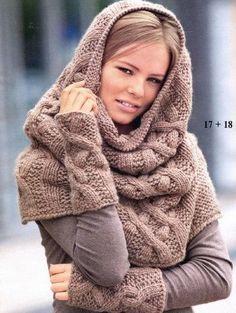 996b0ed1fe A(z) Sál sapka nevű tábla 9 legjobb képe   Knitting projects, Cowl ...