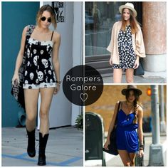 Summer Rompers!
