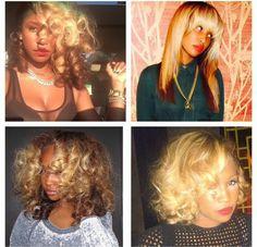 Natural Brazilian Human Virgin Hair Bundles with lace closure Love Hair, Gorgeous Hair, Natural Hair Tips, Natural Hair Styles, Au Natural, Black Curls, Jackson, Hair Laid, Relaxed Hair