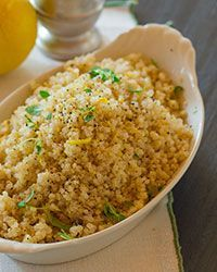 Herbed Quinoa with L