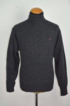 Mens Polo Ralph Lauren Wool Sweater Size L Large Turtleneck Warm in  Clothes, Shoes  amp e6d3869e56