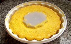 Receita de bolo de laranja no micro-ondas para a fase ataque da dieta dukan.