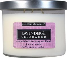 Essential Elements 14.75 Oz. Jar Candle ** Awesome product. Click the image (This is an amazon affiliate link. I may earn commission from it)