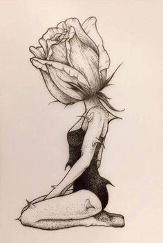 c … – Bildunterschrift – April – themindsjournal.c … – # Bildunterschrift Cool Art Drawings, Pencil Art Drawings, Art Drawings Sketches, Easy Drawings, Disney Drawings, Tattoo Drawings, Beautiful Drawings, Sketch Art, Girl Sketch