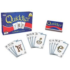 Quibbler Card Game Camp Carepackages Summer Literacy Games To Play