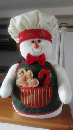 Kathy Brande's media content and analytics Christmas Elf Doll, Christmas Chair, Christmas Teddy Bear, Felt Christmas, Christmas Home, Snowman Crafts, Felt Crafts, Holiday Crafts, Holiday Decor