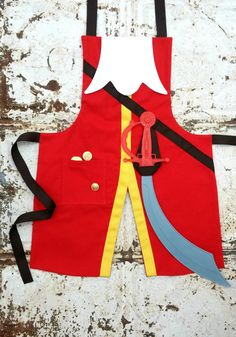 Captain HOOK and Peter PAN Pdf Sewing di QueenElizabethAprons