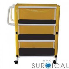 Techno-Aide - MUC-332 - Mri Utility Cart 3 Shelf