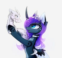 Dragons MLP: Princess Luna
