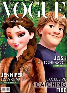 The Hunger Games and Frozen crossover!