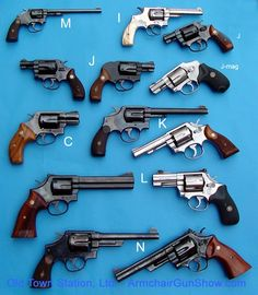 Smith Wesson handguns