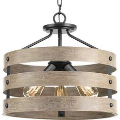 Progress Lighting Gulliver Three-Light Semi-Flush Convertible, Brushed Nickel in Close-to-Ceiling Lights. Farmhouse Flush Mount Light, Farmhouse Lighting, Rustic Farmhouse, Coastal Lighting, Farmhouse Style, Kitchen Lighting, Rustic Lighting, Flush Mount Lighting, Flush Mount Ceiling