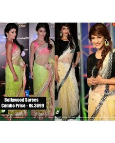 Combo Of Georgette Bollywood Sarees