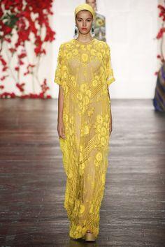 Naeem Khan, New York Fashion Week, Frühjahr-/Sommermode 2016 Fashion Weeks, Fashion Tv, Muslim Fashion, Couture Fashion, Runway Fashion, High Fashion, Fashion Show, Naeem Khan, Kaftan Gown