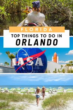 Things to do in Orlando Florida: Our top take on Florida things to do: From Universal Studios Orlando to Disney, and away from the theme parks there are many more things to do in Orlando with Kids. From Downtown to the Beaches at Cape Canaveral there are many exciting things to do for Adults too. #orlando #floridathingstodo Usa Travel Guide, Travel Guides, Travel Tips, Budget Travel, Travel Photos, Cool Places To Visit, Places To Travel, Travel Destinations, Beach Trip