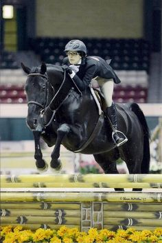 Miranda & rosso, her horse