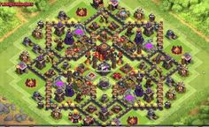 Clash of Clans Town Hall Level 10 Defense Base Design | Thats My Top 10