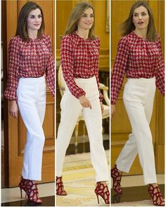 Queen Letizia attended the audience of the National Executive Council often Spanish Association Against Cancer (AECC) at the Zarzuela Palace in Madrid on 9 September 2016.