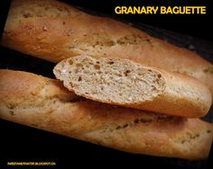 Sweet and That's it: Granary Baguette Baguette, Bread, Baking, Sweet, Food, Candy, Brot, Bakken, Essen