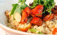 Salada de quinoa: receita do Gordon Ramsay Gordon Ramsay, Tostadas, Food N, Food Hacks, Food Tips, Risotto, Potato Salad, Clean Eating, Healthy Recipes