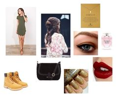 """Shopping"" by asialawson119 on Polyvore featuring Timberland, Dogeared, Charlotte Tilbury, Victoria's Secret, women's clothing, women's fashion, women, female, woman and misses"