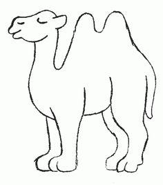 Pinterestteki En Iyi 18 Camel Coloring Pages Goruntuleri Camel - Camel-coloring-pages