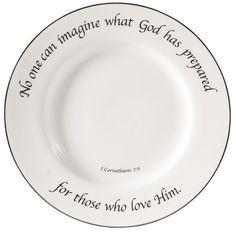 Scripture Tableware
