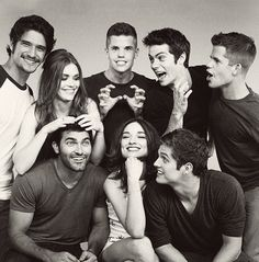 Oh how I love you Teen Wolf cast!