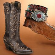 Not normally into the western thing, but these are rockin'! Take a look at the Ariat event on #zulily today!