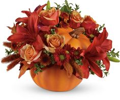ftd & teleflora fall arrangements | Autumn's Joy by Teleflora... 81 Old Trolley Rd, Summerville, SC 29485  Toll Free: 800-392-9333