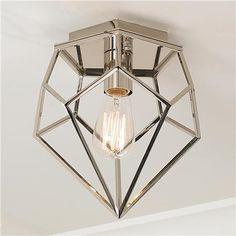 Young House Love Geometric Diamond Ceiling Light