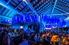 Blue Event Decor Ideas Inspired by Pantone's Color of the Year for 2020 | BizBash - #events #eventdecor #eventideas