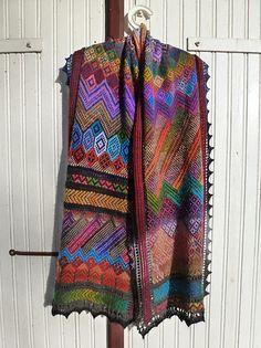 Kurdish Shawl pattern by Kieran Foley