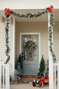 Front Door Decor - I