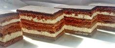 Az úgy volt, hogy a kolléganőm hozott sütit a névnapjára. Köztük volt a kakaós mézes is, amit akkor ettem először, de nem utoljára! Elmesélt... Vanilla Cake, Tiramisu, Cheesecake, Deserts, Food And Drink, Sweets, Cookies, Ethnic Recipes, Neon
