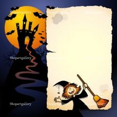 Halloween background by Luisa Venturoli at Shopartgallery!
