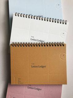 Lettering - The Letter Ledger 3 0 – Lettering Design Brochure, Graphic Design Branding, Packaging Design, Book Packaging, Design Logo, Design Design, Design Poster, Print Design, Web Design Mobile