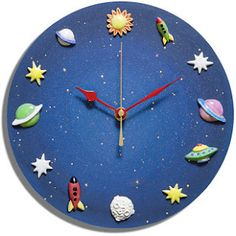 Incomparable Clocks - Discover a wonderful range of handcrafted clocks Clock Art, Diy Clock, Clock Painting, Clock Ideas, Cool Clocks, Unique Wall Clocks, Clock Face Printable, Handmade Wall Clocks, Clock For Kids