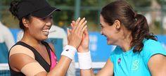 1/9/16 VANIA & MONICA WIN SHENZHEN OPEN DOUBLES TITLE! Vania King/ Monica Niculescu win Shenzhen doubles titles beating Saisai Zheng/ Yi-Fan Xu 6-1 6-4