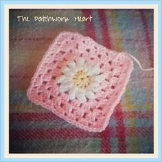 The Patchwork Heart: Spring Daisies