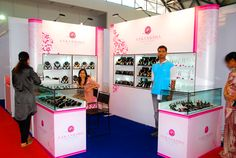 Portable Exhibition Stand for Aakanksha Jewellers. Know more http://www.expodisplayservice.ae/