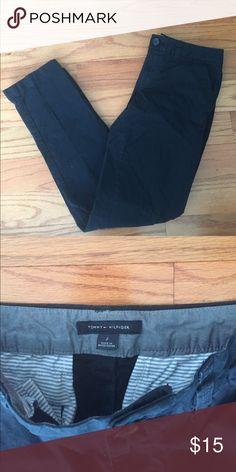 NWOT Tommy Hilfiger Montauk Khakis Brand new Tommy Hilfiger Montauk Khaki pants in Navy! Perfect condition! Tommy Hilfiger Pants Straight Leg