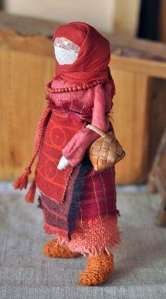 """Народные куклы ручной работы. Ярмарка Мастеров - ручная работа Кукла-образ """"Прасковья"""". Handmade."""